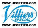 Villier Special Tank Transfer Light Blue DVILL7